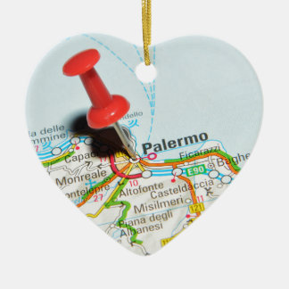 Palermo, Italy Christmas Ornament