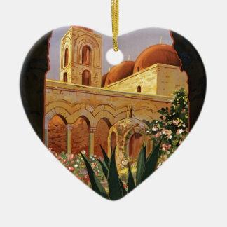 Palermo (Sicilia) Christmas Ornament