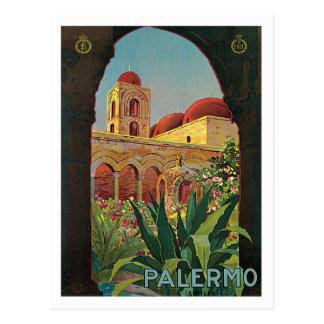 Palermo Sicilia Italy Vintage Travel Poster Art Postcards