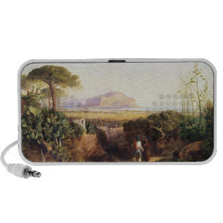 Palermo, Sicily, 1847 (oil on canvas) iPod Speakers