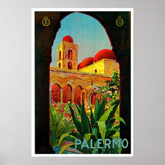 Palermo Sicily Italy Travel Art Print