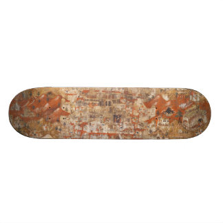 Palestine 15th Century Topography of the Holy Land Custom Skate Board