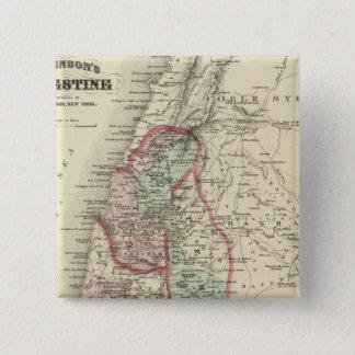 Palestine 4 15 cm square badge