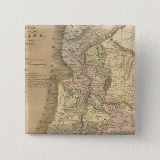 Palestine 6 15 cm square badge