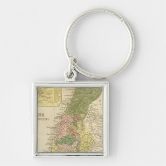 Palestine and Adjacent Countries Key Ring