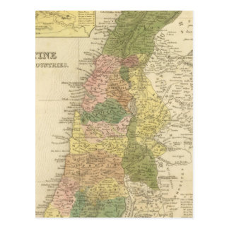 Palestine and Adjacent Countries Postcard