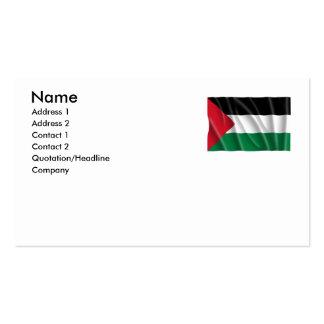 PALESTINE BUSINESS CARD TEMPLATES