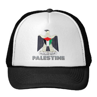 Palestine Coat of Arms Mesh Hats