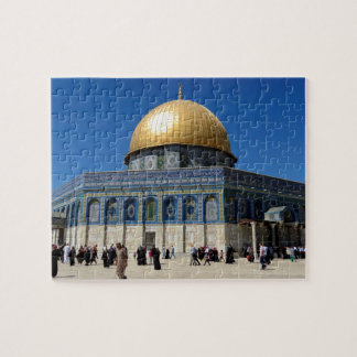 Palestine: Dome of the Rock in Jerusalem Puzzle