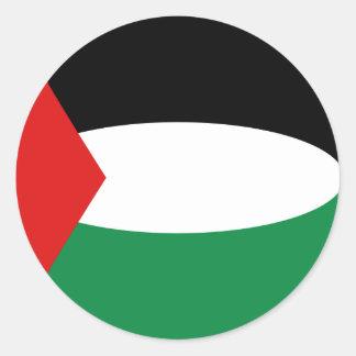 Palestine Fisheye Flag Sticker