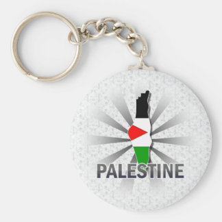 Palestine Flag Map 2.0 Key Ring