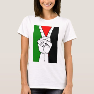 PALESTINE FLAG PEACE SIGN T-Shirt