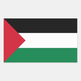 Palestine Flag Rectangular Sticker
