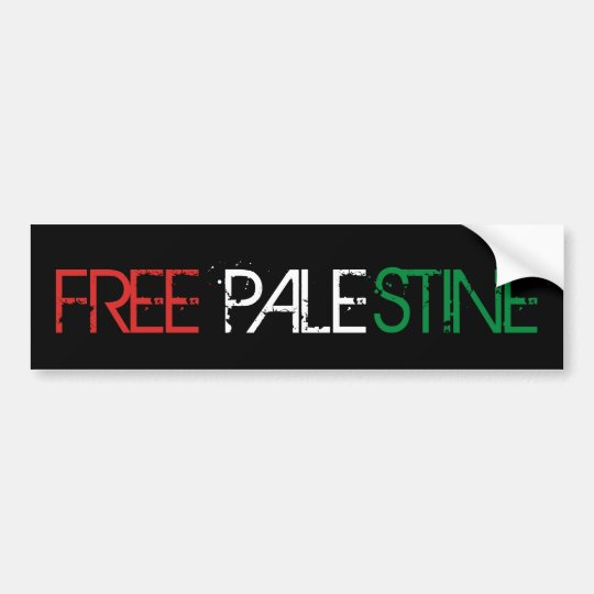 Palestine Freedom Bumper Sticker