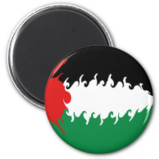 Palestine Gnarly Flag Fridge Magnets