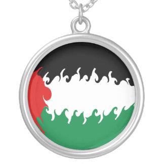 Palestine Gnarly Flag Custom Jewelry