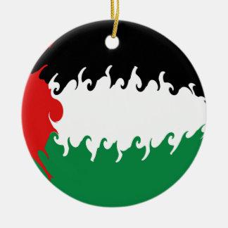 Palestine Gnarly Flag Ornament
