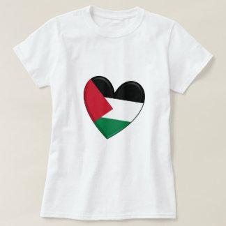 Palestine Heart Flag T-Shirt