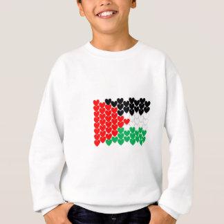 Palestine hearts sweatshirt