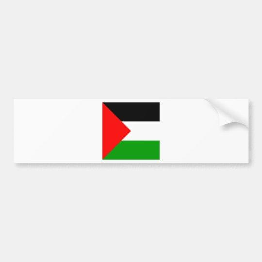 Palestine High quality Flag Bumper Sticker