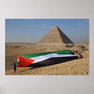 Palestine in Egypt Poster