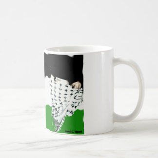 Palestine Intifada Flag Basic White Mug