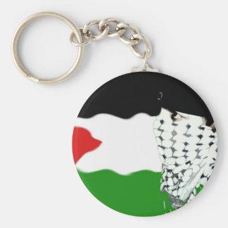 Palestine Intifada Flag Key Ring