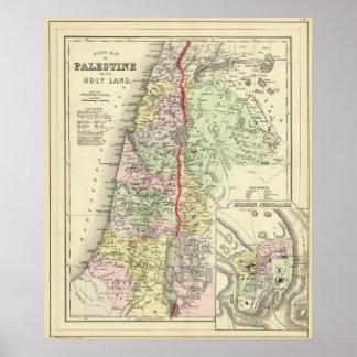 Palestine, Jerusalem 2 Poster