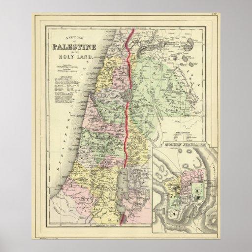 Palestine, Jerusalem 2 Posters
