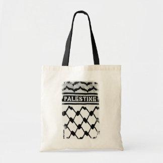 Palestine Keffiyah Budget Tote Bag