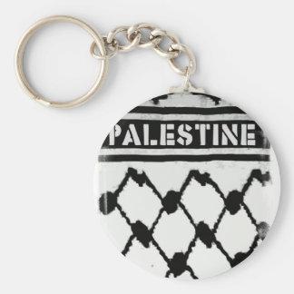 Palestine Keffiyah Key Ring