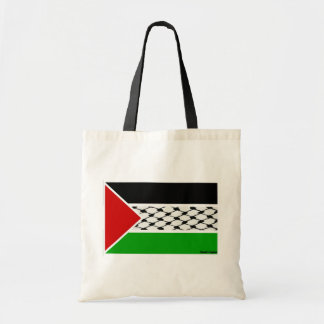 Palestine Keffiyeh Flag Budget Tote Bag