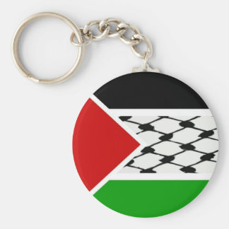 Palestine Keffiyeh Flag Key Ring