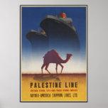 Palestine Line Print