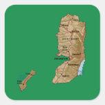 Palestine Map Sticker