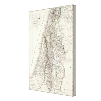 Palestine ou Terre Sainte - The Holy Land Canvas Print