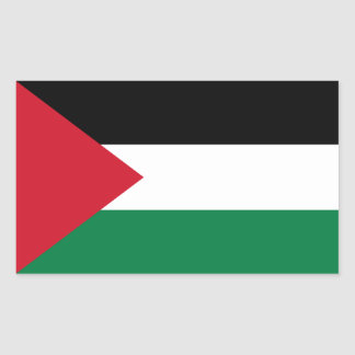 Palestine/Palestinian Flag Rectangular Sticker