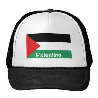 Palestine palestinian flag trucker mesh hat