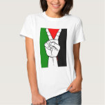 Palestine Peace Flag Tee Shirt