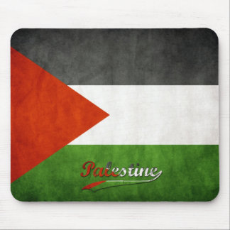 Palestine Retro Flag Mouse Pad