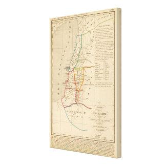 Palestine sous Constantin le Grand, 330 apres JC Canvas Print