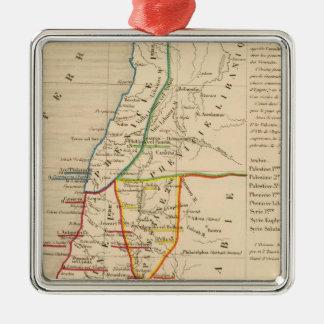 Palestine sous Constantin le Grand, 330 apres JC Christmas Ornament