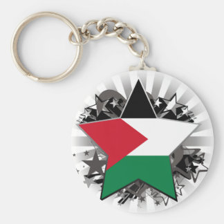 Palestine Star Key Ring