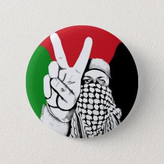 Palestine Victory Flag 6 Cm Round Badge