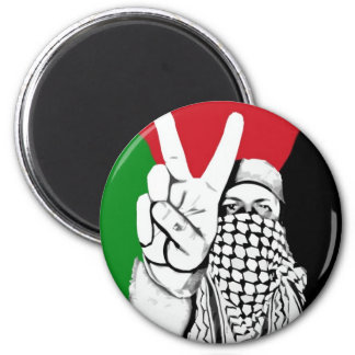 Palestine Victory Flag 6 Cm Round Magnet