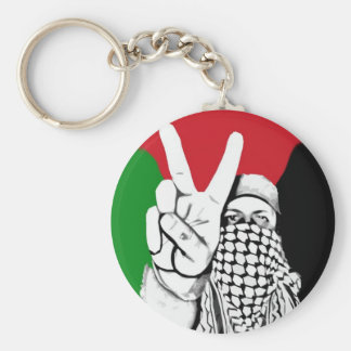 Palestine Victory Flag Basic Round Button Key Ring