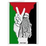 Palestine Victory Flag Card