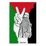 Palestine Victory Flag Postcard