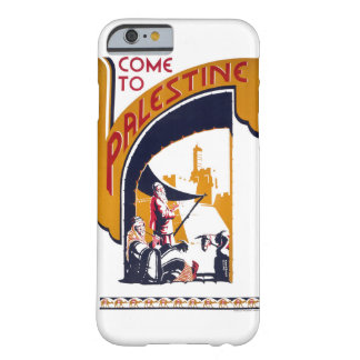Palestine Vintage Travel Poster Restored Barely There iPhone 6 Case