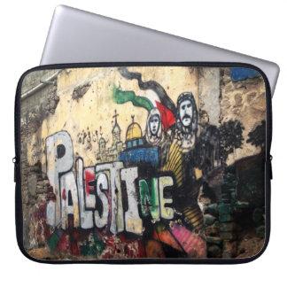 Palestine Wall Mural Laptop Sleeve